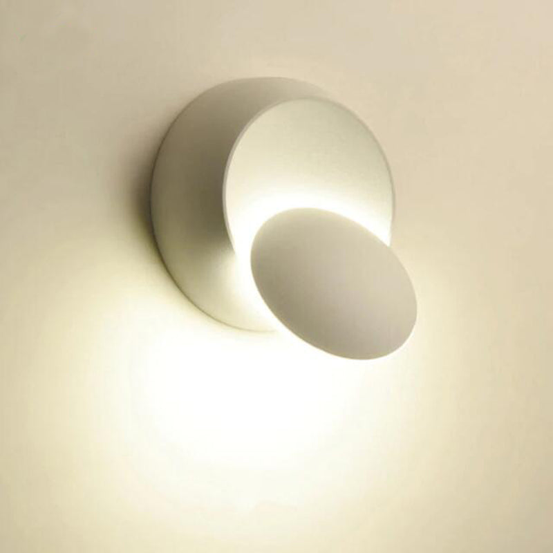 LED Wall Lamp 360 degree rotation adjustable bedside light