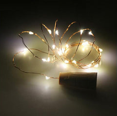 2m 20LEDs Copper Wire String Light with Bottle Stopper - ePeriod Led Lighting Store