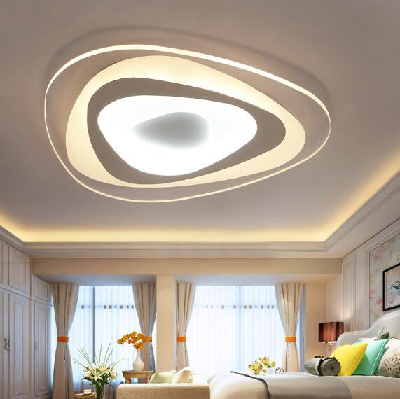 Ultrathin Triangle Ceiling Lights lamps for living room bedroom home Decor - ePeriod Led Lighting Store
