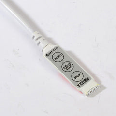 10pcs/lot DC12V 3Key mini RGB led strip Controller with DC - ePeriodLED