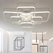 Rectangle Acrylic Aluminum Modern Led ceiling lights - ePeriod Led Lighting Store
