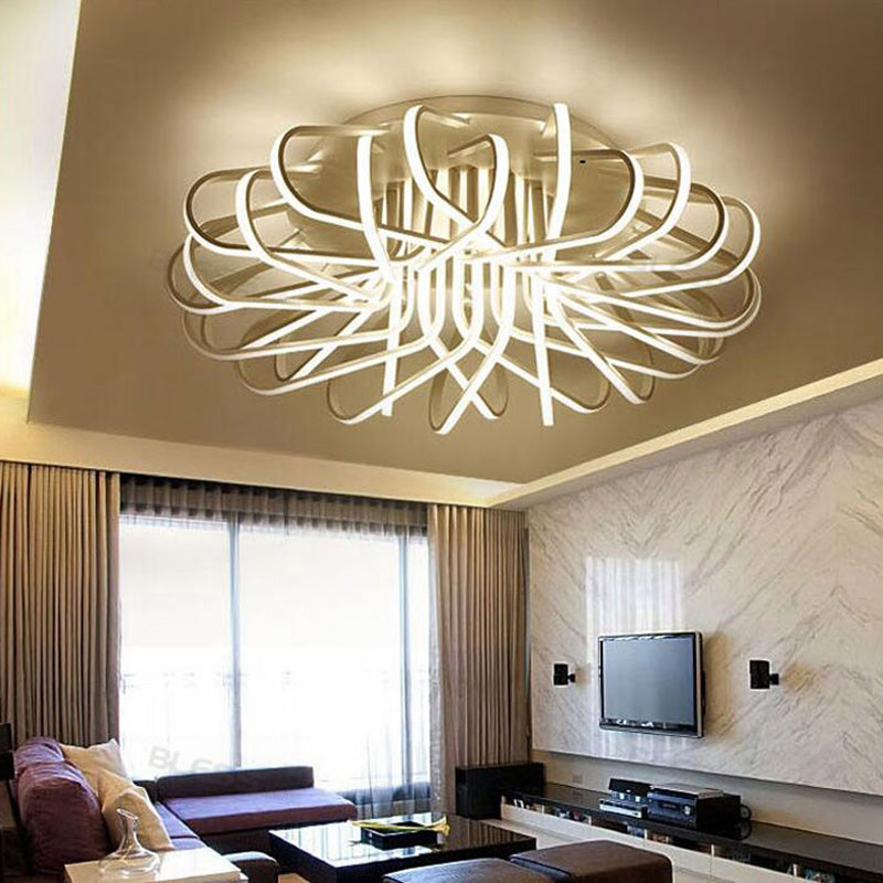 Surface mounted Ceiling lights Aluminum AC85-265V for living room Bedroom - ePeriod Led Lighting Store