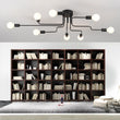 Vintage E27 Bulb Multiple Rod Wrought Ceiling Lights - ePeriod Led Lighting Store