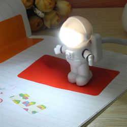 Astronaut Spaceman USB LED Adjustable Night Light For Computer PC - ePeriodLED