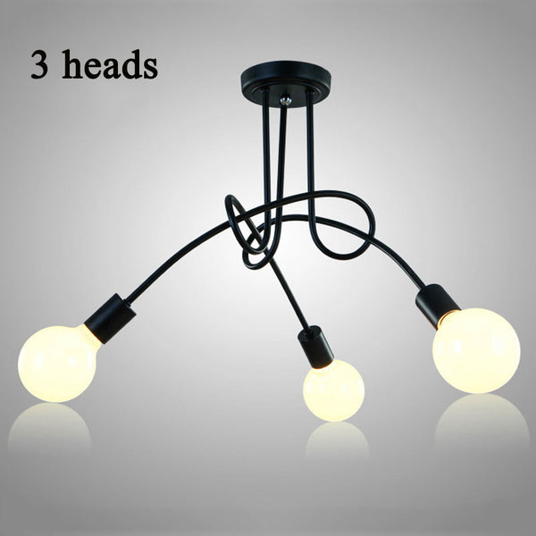 Vintage Modern Ceiling Lights Fixtures Metal Lampshade - ePeriod Led Lighting Store
