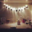 1M 10 led clip string lights battery for home decoration - ePeriodLED