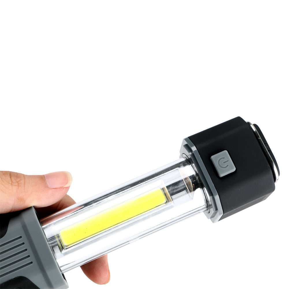 COB LED Stretchable Flashlight Torch with Strong Magnet - ePeriod Led Lighting Store