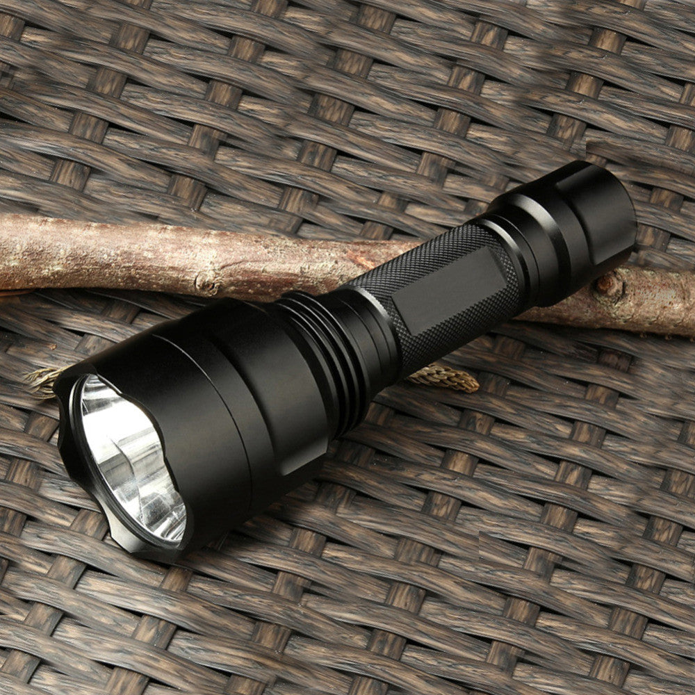 LED flashlight Torch rechargeable batteries 18650 waterproof - ePeriod Led Lighting Store
