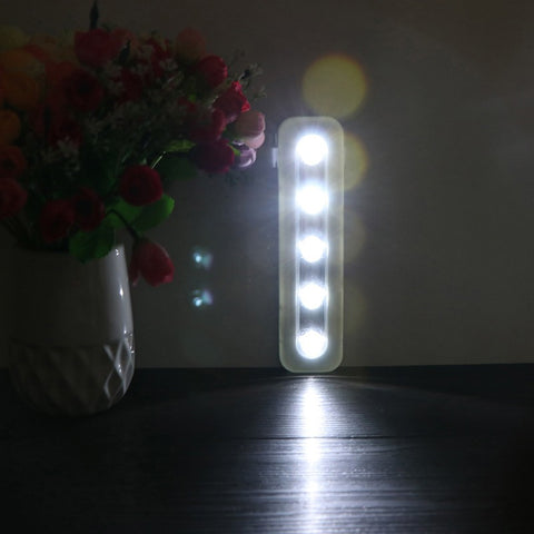 Wireless Wall Light Closet Lamp 5 LED Night Light - ePeriod Led Lighting Store