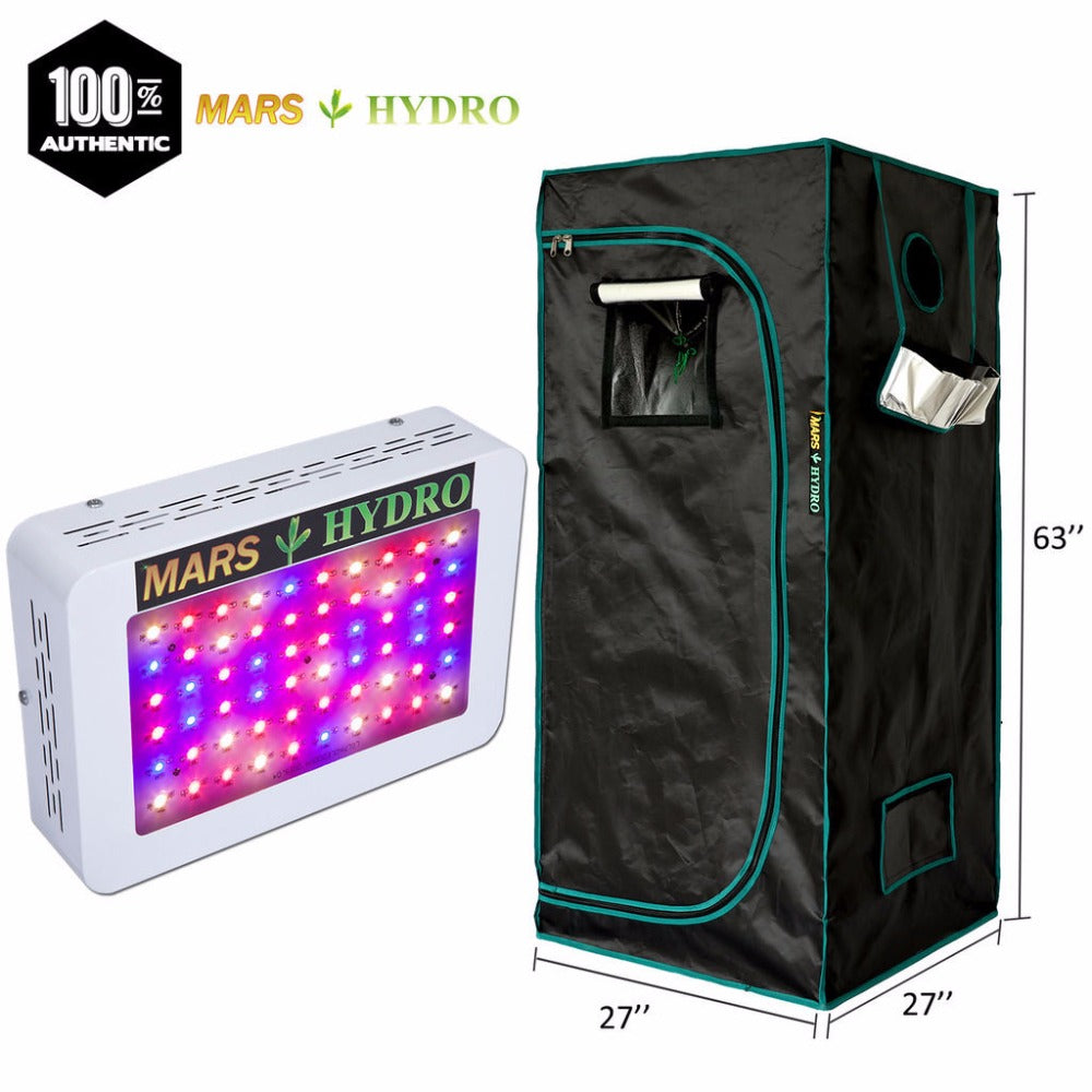 300W Led Grow Light Veg Flower Full Spectrum Lamp with Grow Tent - ePeriodLED
