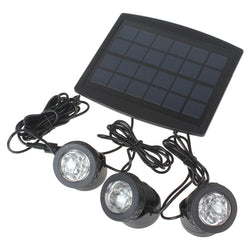 3x6 White Light Waterproof Adjustable Solar Powered Lamp - ePeriodLED