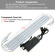 Led grow light 3 Red 1 Blue 12v Safe Growing Bar Light Set - ePeriod Led Lighting Store