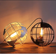 Globe Pendant Lights Black/White Color for Ceiling Fixtures - ePeriod Led Lighting Store