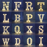 26 Letters Marquee Sign Alphabet LED Night Light - ePeriodLED