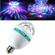 E27 6W LED Bulb RGB Auto Rotating Magic Ball Lamp LED Stage Light - ePeriodLED