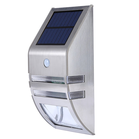 Waterproof Solar Powered PIR Motion Sensor lamp - ePeriod Led Lighting Store