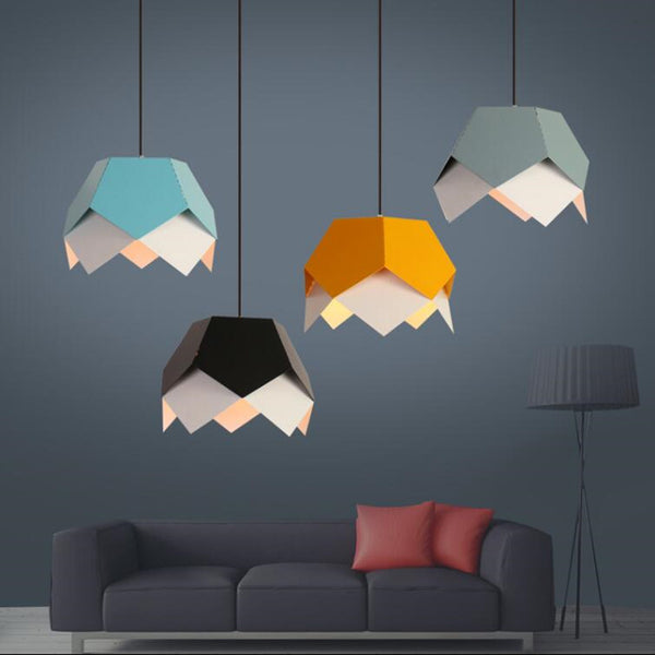Fashion Pendant lamp LED colorful indoor lighting - ePeriodLED