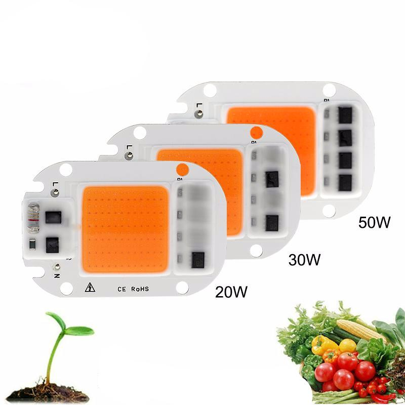 LED Grow Light Chip Hydroponice AC 220V Full Spectrum For Plant - ePeriod Led Lighting Store