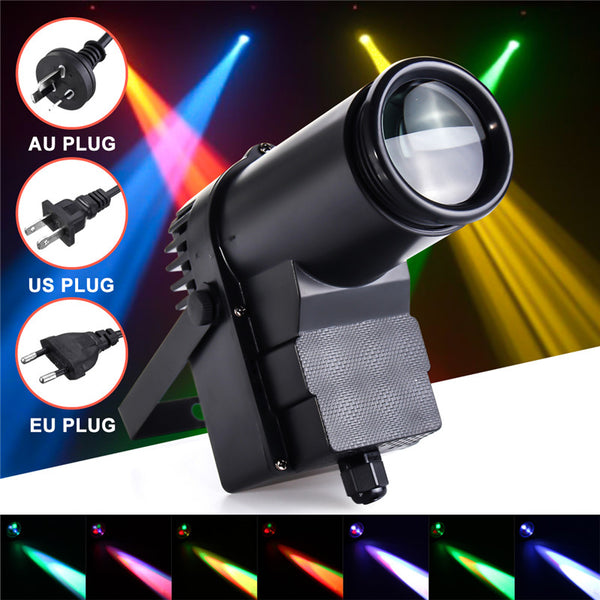 30W DMX RGBW LED Stage Light Beam KTV DJ Lighting AC110-240V - ePeriodLED