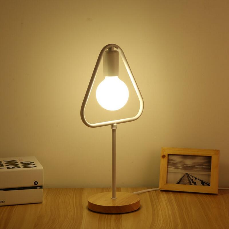 Nordic creative table lamp for bedroom bedside simple desk reading decorative - ePeriod Led Lighting Store