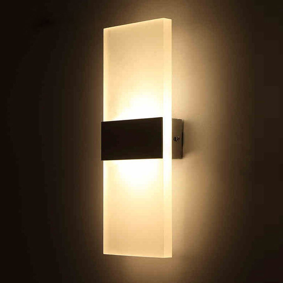 Led Acrylic Wall Lamp AC85-265V Wall Mounted Sconce Lights - ePeriod Led Lighting Store