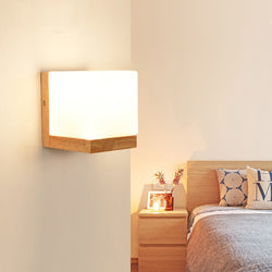 Modern vintage Wood Wall Lights for home decor