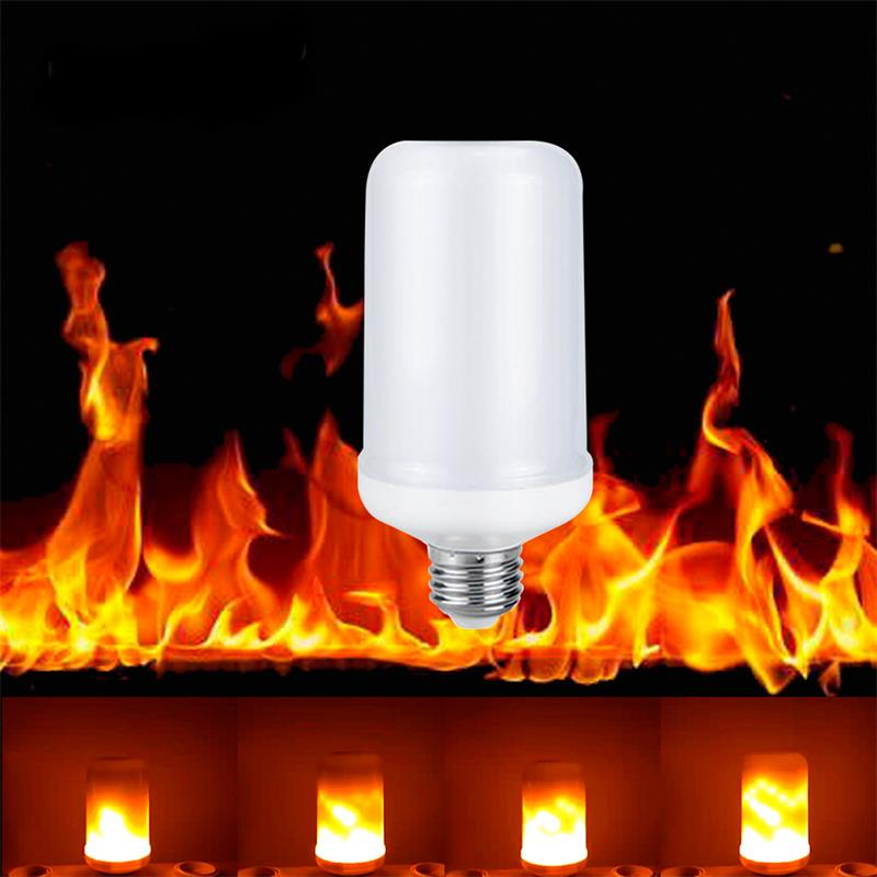 SMD 2835 LED lamp Flame Effect Fire Light Bulbs 7W AC85-265V - ePeriod Led Lighting Store