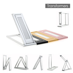 Transformers LED Desk Lamp 2-Level Dimmable Portable Table Lamp Built-In Battery
