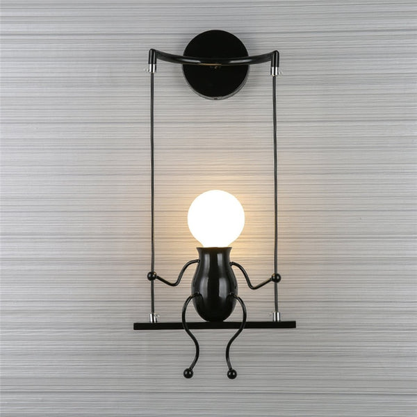 5W Modern Creative led wall light fixture AC85-265V