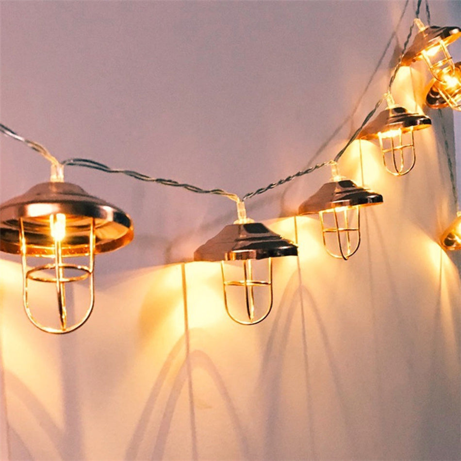 Led String fairy Lights 10 leds with unique lamp shape