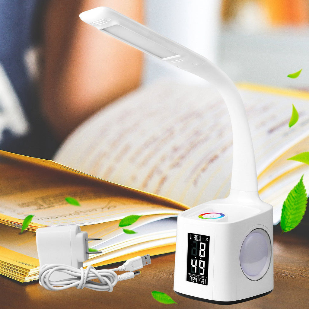 Led desk lamp with usb charging port&screen&calendar&color table lamp - ePeriod Led Lighting Store