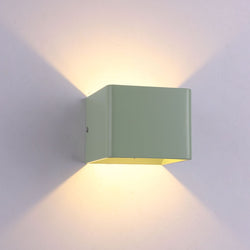 Modern colorful Aluminum LED Wall Lamps AC 85-265V