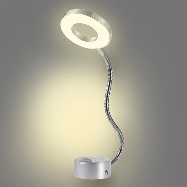 Aluminum Flexible 5W LED Hoses Wall Lamp