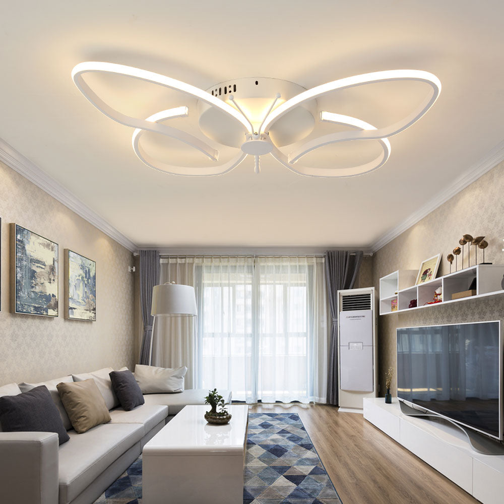 Butterfly Modern LED Ceiling Lights with Remote Control