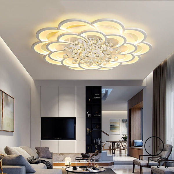 Led Ceiling Lights Crystal lustre plafonnier For home decor