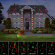 Christmas Laser Projector light 12 Xmas patterns with RF Remote