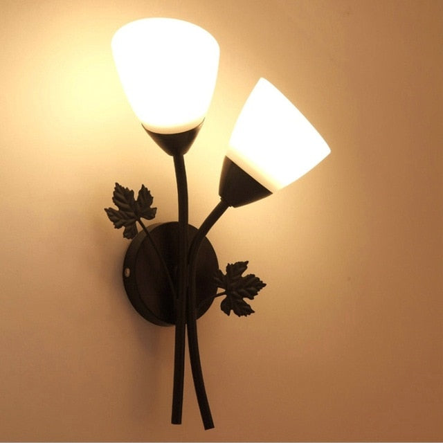 Moden Nordic Iron Gold Wall lamp for Home Decoration