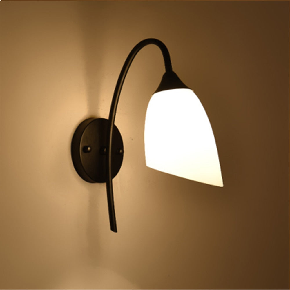American style vintage iron led wall lamp