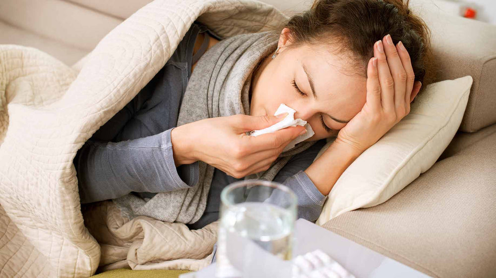 Seasonal Allergies, Flu, Cough Natural Relief