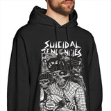 Suicidal Tendencies Hoodie suicidal Tendencies Hoodies Autumn White Pullover Hoodie Fashion Long Sleeve Men Cotton Hoodies - Kool Cat Records T Shirts N More