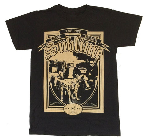 Sublime Rock Band unique design unisex T shirt - Kool Cat Records T Shirts N More