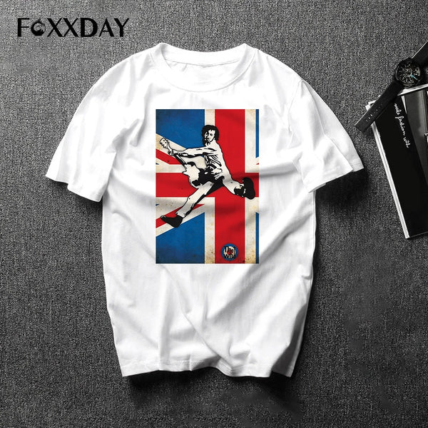 THE WHO T Shirt Rock Band T-shirt Hot sale Music DJ Male & Famale Tee Tops Hip-Hop Men Short Sleeve Free shipping Camiseta - Kool Cat Records T Shirts N More