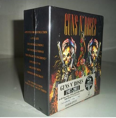 Free Shipping: Guns N Roses Rock Band 9CD Seal