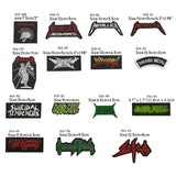 METALLICA Master Of Puppets patch OVERKILL SUICIDAL TENDENCIES SODOM BABYMETAL Music Band Metal Rock Punk EMBROIDERED PATCH - Kool Cat Records T Shirts N More