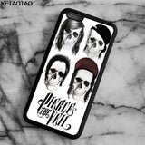 KETAOTAO Pierce The Veil Skull Phone Cases for iPhone 4S 5C 5S 6 6S 7 8 Plus X for Samsung S8 NOTE Case Soft TPU Rubber Silicone - Kool Cat Records T Shirts N More