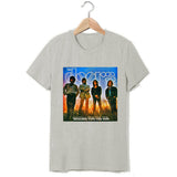 Waiting for the sun the doors rock fashion vintage t shirt - Kool Cat Records T Shirts N More