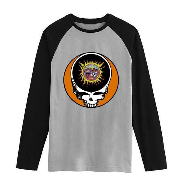 Sublime grateful dead Vintage fashion men women size raglan full sleeves long sleeves t shirt item NO. FLBMSS-076 - Kool Cat Records T Shirts N More