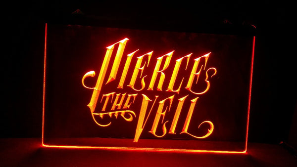 Pierce the Veil 2 size Home Decoration Wall Decor Beer NR Bar Pub Club LED Neon Light Sign - Kool Cat Records T Shirts N More