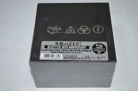 LED ZEPPELIN BOX SET Complet Collection 40TH YEARS ANNIVERSARY 12CD 1969-1982 Japan Edition Music Cd Boxset freeshipping - Kool Cat Records T