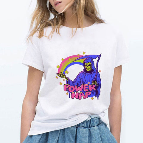 Power Nap Vintage Female T-Shirt - Kool Cat Records T Shirts N More